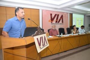 Shri Aditya Saraf addressing the audience